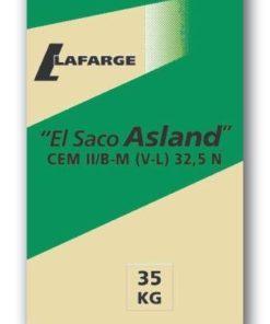 Saco de cemento gris Lafarge 25 Kg