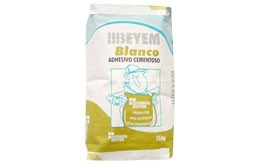 Saco de Cemento cola Beyem 25 Kg.