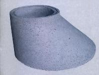 Cono asimétrico hormigón 1200 X 800